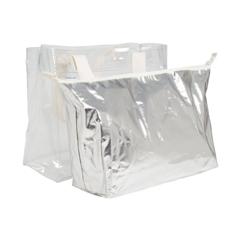 COOLER CARRY ME TOTE SILVER 15L