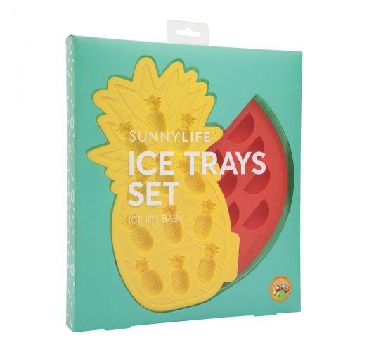 FRUIT ICE TRAYS