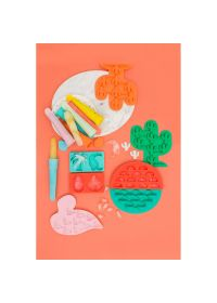 Pineapple/watermelon silicone ice cream moulds - FRUIT SALAD POP MOULDS