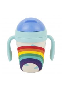 Kids sippy cup - rainbow theme - KIDS SIPPY CUP WONDERLAND