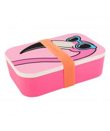 Tiffany Cooper Pink flamingo lunch box - LUNCH BOX MINGO
