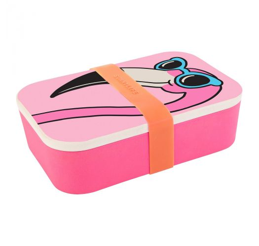 Tiffany Cooper Pink flamingo lunch box - LUNCH BOX MINGO