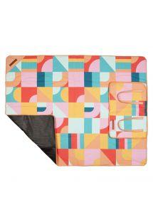 Coperta da picnic pieghevole con stampa geometrica - PICNIC BLANKET ISLABOMBA