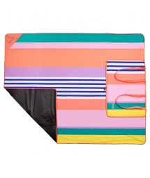 Striped picnic cover which can be folded into a bag - PICNIC HAVANA