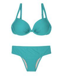 Blue plus size swimsuit - PLUS NANAI