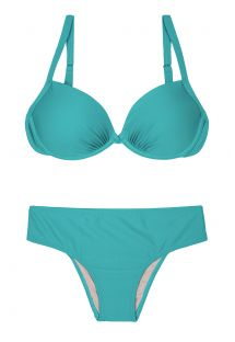 Blue plus size swimsuit - PLUS NANAI