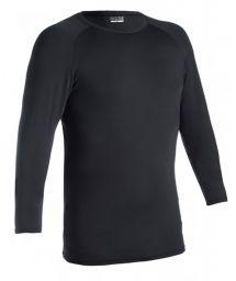 Men's long sleeve black t-shirt UV protection - CAMISETA UV PRETO