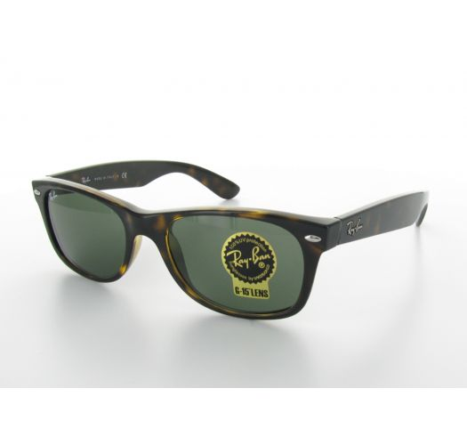 c46ba797fd61 Horn-rimmed Sunglasses And Green conventional Lenses - New Wayfarer Classic  Rb2132 - Ray-Ban