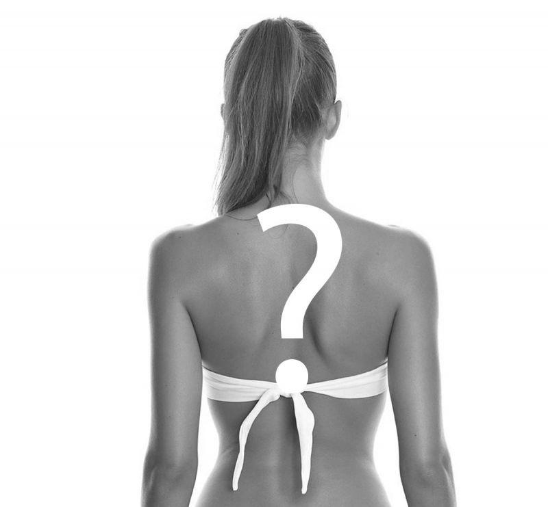 Bikiniöverdel bandeau - TOP BANDEAU SURPRISE