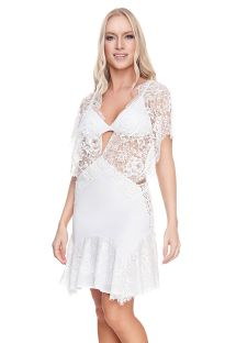 CHANTILLY DRESS WHITE