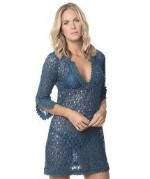 Dark blue lace beach dress - BINDIGO INDONESIA