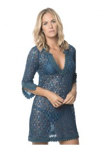 Dark blue lace beach dress - BINDIGO INDONESIA
