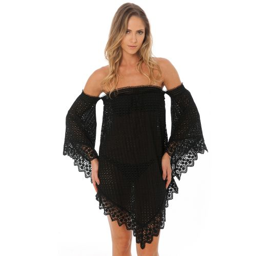 LACE TUNIC BLACK