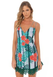 STRING TUNIC CORAL REEF