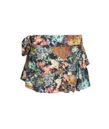 Little printed skirt multicoloured coral - SAIA CORAIS