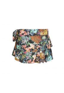 Короткая разноцветная юбка - SAIA CORAIS
