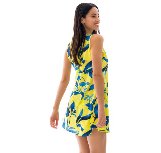 DRESS LEMON FLOWER