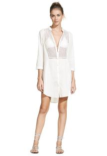 OFF WHITE SOFT CHEMISE
