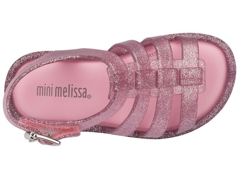 BABY MELISSA FLOX PINK/GLITTER SILVER