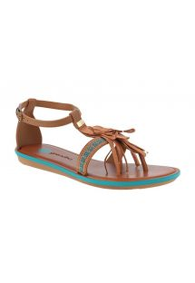 BOHO SANDAL - BROWN