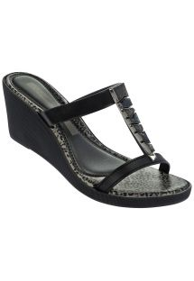 JEWEL PLAT FEM BLACK/SILVER