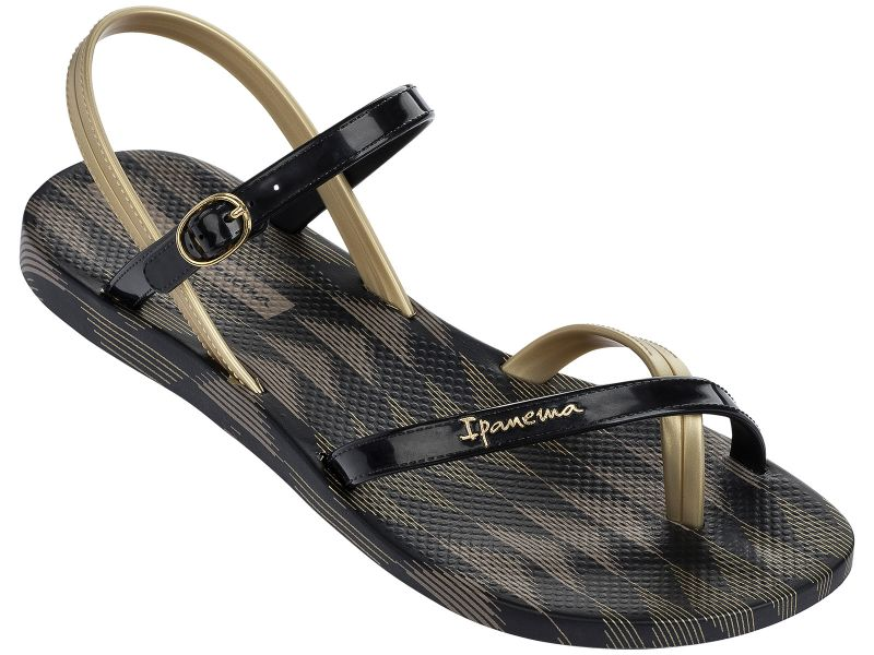 FASHION SAND IV  - BLACK/GOLD