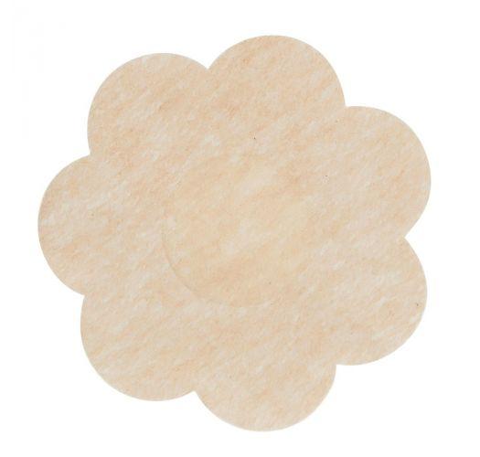 Single use nude nipple covers - flower shape - HEADLIGHT DIMMERS PETALS