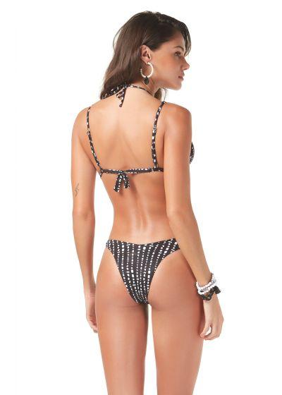 Black & white high-leg bikini - FRESH POA
