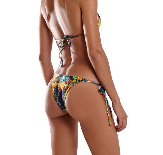Multicolored tropical Brazilian bikini - ICEBERG IQUITOS