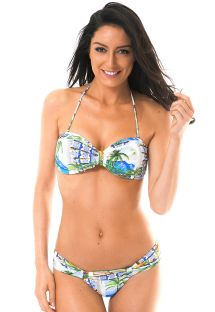 Low-waisted Brazilian swimsuit - PARATY BEBEL