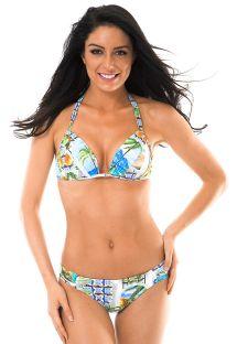 Polstret trekant bikini med tørklædeeffekt - PARATY PACIFICO