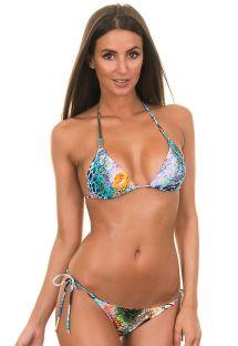 Braziliaanse bikini met dierenmotief - VERAO SKIN