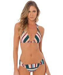 Trekants-bikini med smyckade ränder - VENUS LA VIE EN ROSE