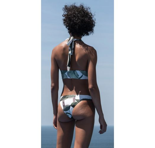 Printed bra bikini printed with multi-position straps - BIKINI MULTI ALÇAS DOUBLE CORUMBAU