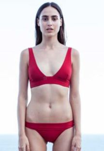 Roter Bustier-Bikini - BIKINI V PITANGA