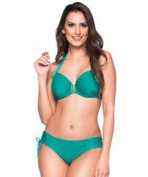 Grön balconette-bikini med byglar och accessoarer - ALÇA ARQUIPELAGO