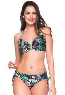 Buntgeblümter Balconette-Bikini, Accessoire - ALÇA ATALAIA