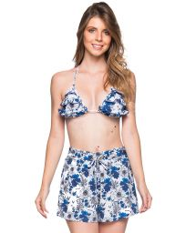 Set aus Triangel-Top, Volants, Strandshorts - BABADO ATOBA