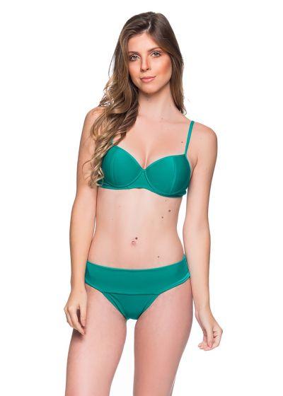 Grüner Balconette-Bikini mit Formbügeln - BASE ARQUIPELAGO