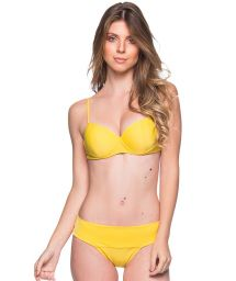 Yellow underwired balconette bikini - BASE PAELLA
