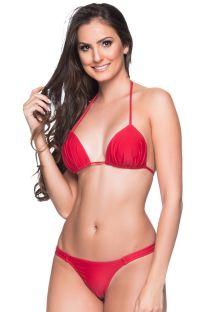 Red string bikini with padded top - BOJO MULUNGU
