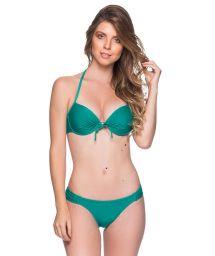 Grön push up balconette bikini - BOLHA ARQUIPELAGO