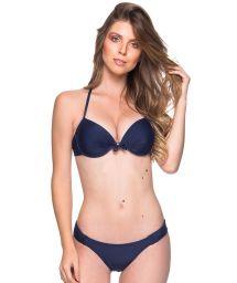Blauer Push-Up-Balconette-Bikini, Formbügel - BOLHA MIRAMAR