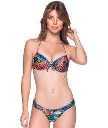 Push-Up-Balconette-Bikini mit Tropenprint - BOLHA NORONHA FLORAL