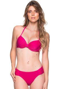Bikini rosa con top balconette con aros - DRAPE TROPICALIA