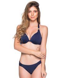 Blauer wattierter Triangel-Bikini, Accessoire - TURBINADA MIRAMAR