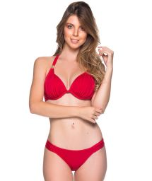 Roter wattierter Triangel-Bikini, Accessoire - TURBINADA MULUNGU