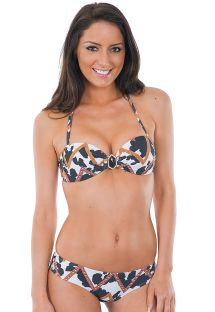 Bandeau and mini-boxer swimsuit - VAQUINHA BELLA