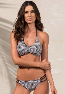 Bikini deportivo de dos tonos estilo gráfico - RIALTO ZIGGY