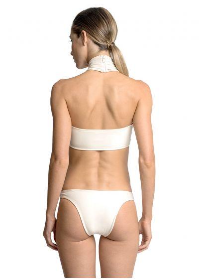 Ecru crop topp bikini - FIOS NEW ATHLETIC